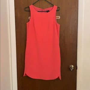 Ready for Spring Ann Taylor Sleeveless coral dress